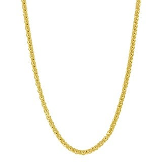 Pori Italian 14k Goldplated Sterling Silver Coreana Popcorn Chain Necklace