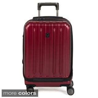 Delsey Helium Titanium 19-inch Expandable Hardside International Carry-on Spinner Suitcase