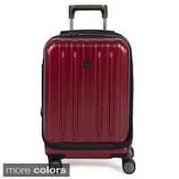 DELSEY Paris Helium Titanium 19-inch Expandable Hardside International Carry-on Spinner Suitcase