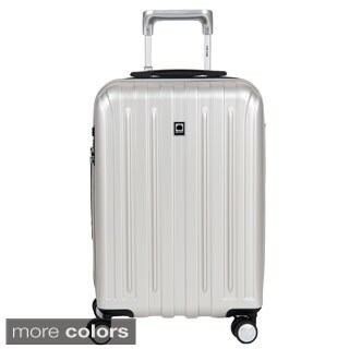 DELSEY Paris Helium Titanium 20.5-inch Expandable Hardside Carry-On Spinner Trolley Suitcase (3 options available)