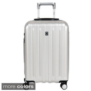 DELSEY Paris Helium Titanium 20.5-inch Expandable Hardside Carry-On Spinner Trolley Suitcase