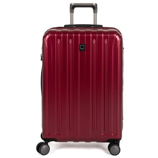 DELSEY Paris Helium Titanium 25-inch Expandable Hardside Spinner Trolley Suitcase