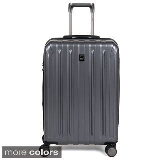 Delsey Helium Titanium 25-inch Expandable Hardside Spinner Trolley Suitcase