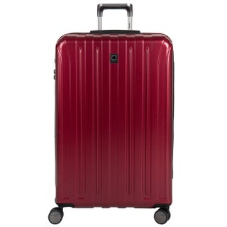 DELSEY Paris Helium Titanium 29-inch Expandable Hardside Spinner Trolley Suitcase (Option: Red)