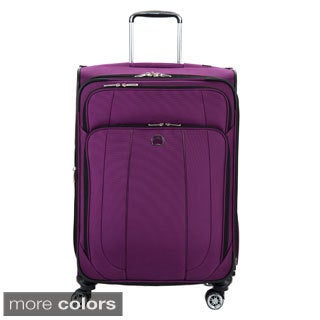 Delsey Helium Cruise 25-inch Expandable Spinner Suiter Upright Suitcase