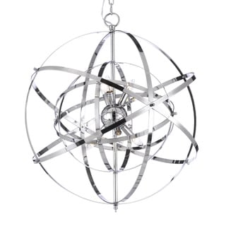 Foucault's Orb Chrome Chandelier Light Fixture