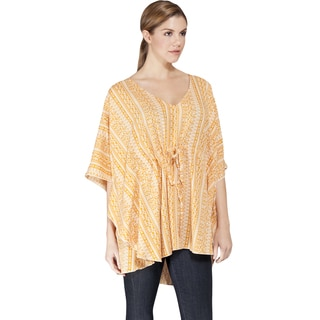 Women's Butterfly Sleeve Summer Beach Tunic (India)