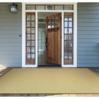 Monaco Sea Pier/ Sand Lemon Area Rug - 7'6 X 10'9