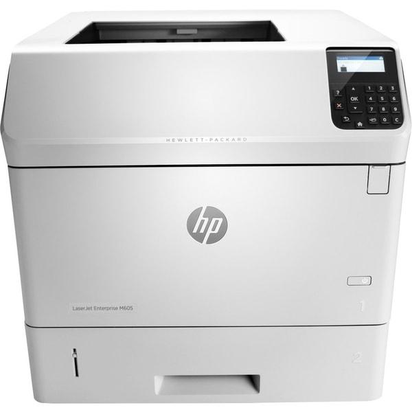 HP LaserJet M605n Laser Printer - Monochrome - 1200 x 1200 dpi Print
