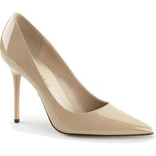 Women's Pleaser Classique 20 Pump Nude Patent (More options available)