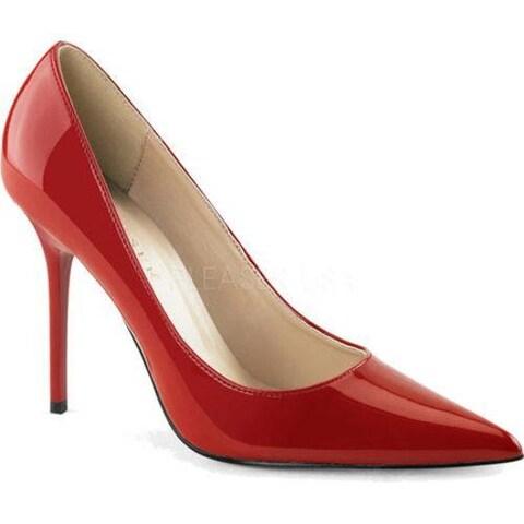 Women's Pleaser Classique 20 Pump Red Patent