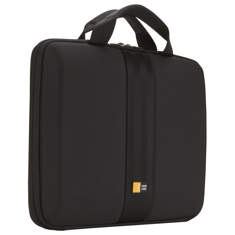 "Case Logic Intrata INT-111-BLACK Carrying Case for 12"" Notebook, Chromebook, Ultrabook - Black"