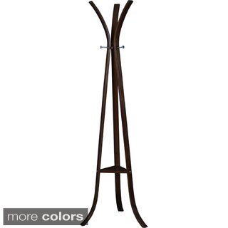 Clay Alder Home Gold Brook Bentwood Coat Rack