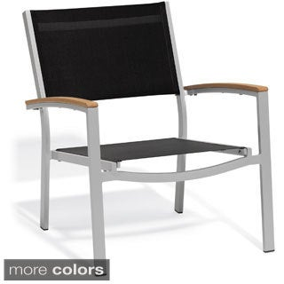 Oxford Garden Travira Black Chat Chair (Set of 4)