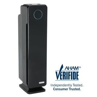 GermGuardian AC5300B Elite 28-inch 3-in-1 HEPA UV-C Tower Air Purifier - Black