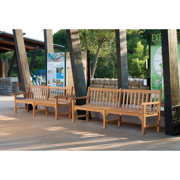 oxford garden essex 96 inch bench free shipping today overstockcom 17172223 - Garden Furniture Essex