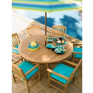 Oxford Garden Dining 67 inch Round Dining Table