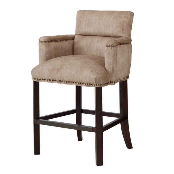 Madison Park Melanie Round Arm Counterstool Free
