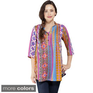Printed Geo Summer Kurta Tunic