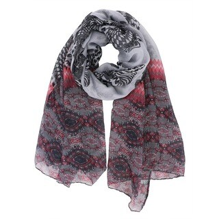 LA77 Boho-chic Colorful Printed Scarf