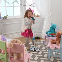 KidKraft Sing Along Mic and Amp - White/Blue