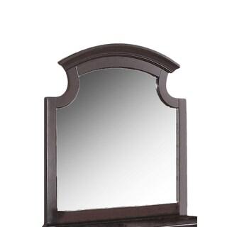 Militza Espresso Finish Beveled Mirror