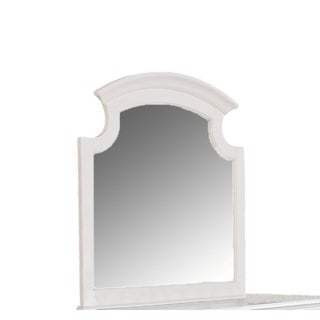 Militza White Finish Beveled Mirror