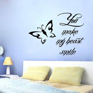 Inspirational Love Quote Sticker Vinyl Wall Art