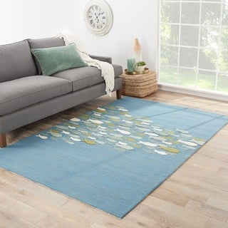 Abyss Indoor/ Outdoor Animal Blue/ Green Area Rug (5' X 7'6)