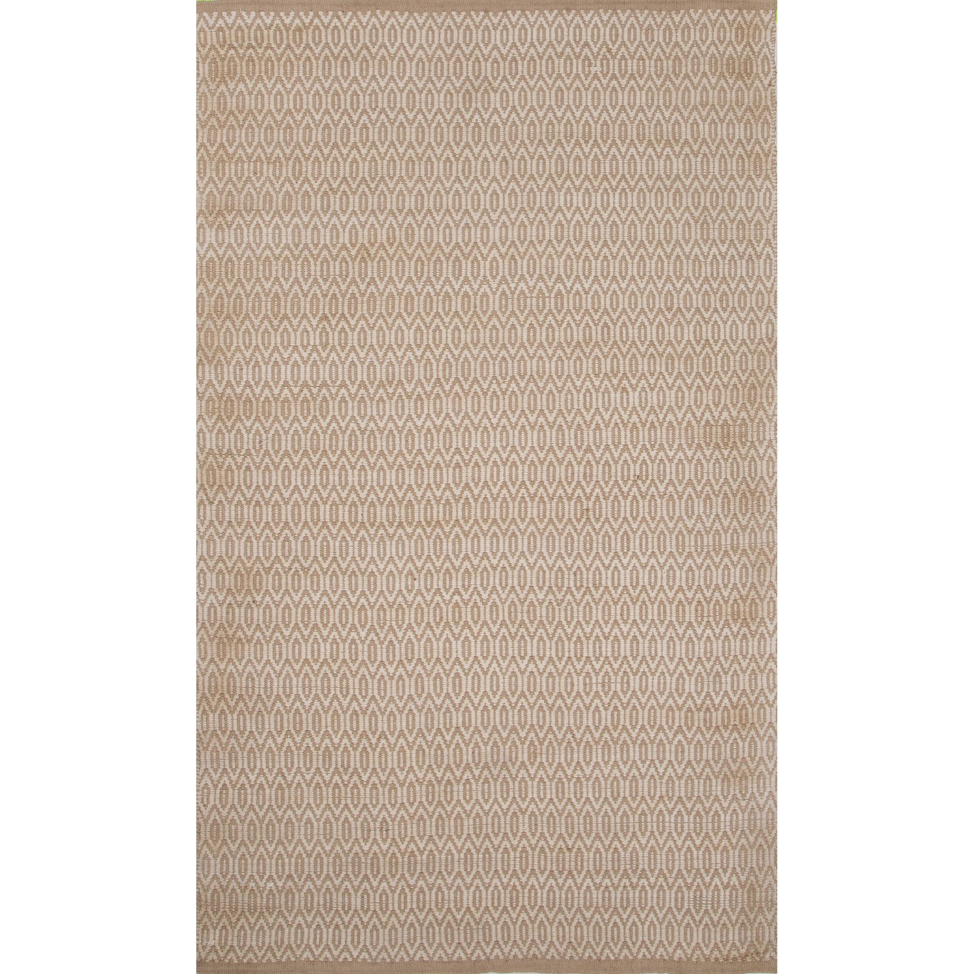 Juniper Home Natural Tribal White Area Rug (5' X 8') (5' ...