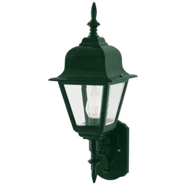 Shop Cambridge Verde Green Finish Outdoor Wall Lantern