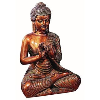 Benzara Decorative Marble Buddha Figurine|https://ak1.ostkcdn.com/images/products/10029285/P17174791.jpg?impolicy=medium