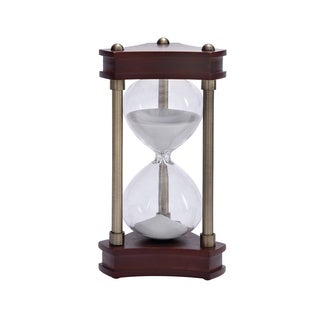 Metal Gold Decorative Sand Timer