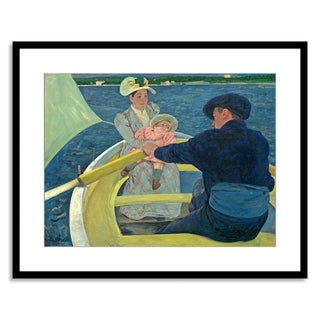 Gallery Direct Mary Cassatt 'The Boating Party, 1893-94' Framed Paper Art