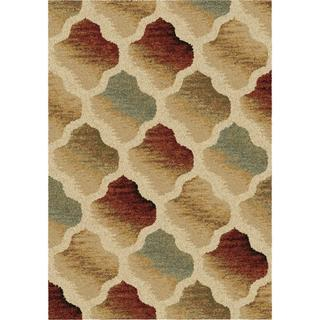 "Royal Shag Collection Color Hive Multi Area Rug (5'3"" x 7'6"")"