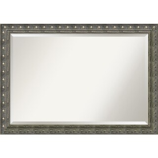 Wall Mirror Extra Large, Barcelona Champagne 40 x 28-inch - Pewter/Antique Gold - extra large - 40 x 28-inch