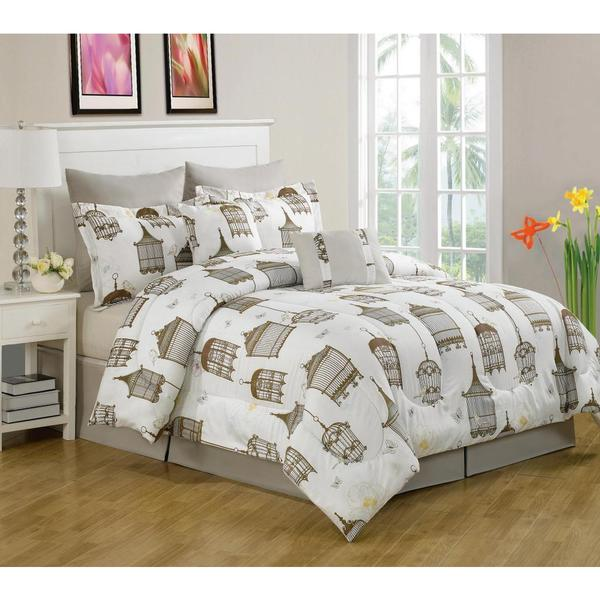 Sidney Birdcage 8-piece Comforter Set