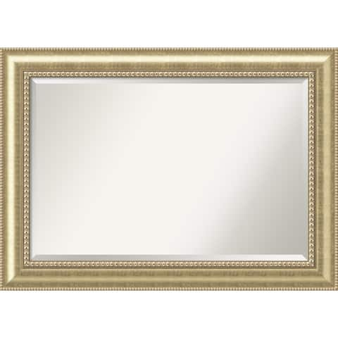 Wall Mirror Extra Large, Astoria Champagne 43 x 31-inch - extra large - 43 x 31-inch