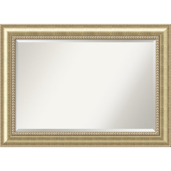 Wall Mirror Extra Large, Astoria Champagne 43 x 31-inch - Antique Black - extra large - 43 x 31-inch