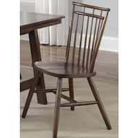 The Gray Barn Tobacco Spindle Back Dining Chair