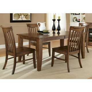 Arbor Hills Sandstone Rectangular Leg Table