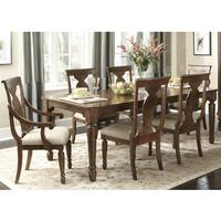 Rustic Tradition Cherry 7-Piece Rectangular Dinette Set