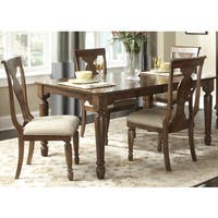 Rustic Tradition Cherry 5-Piece Rectangular Dinette Set