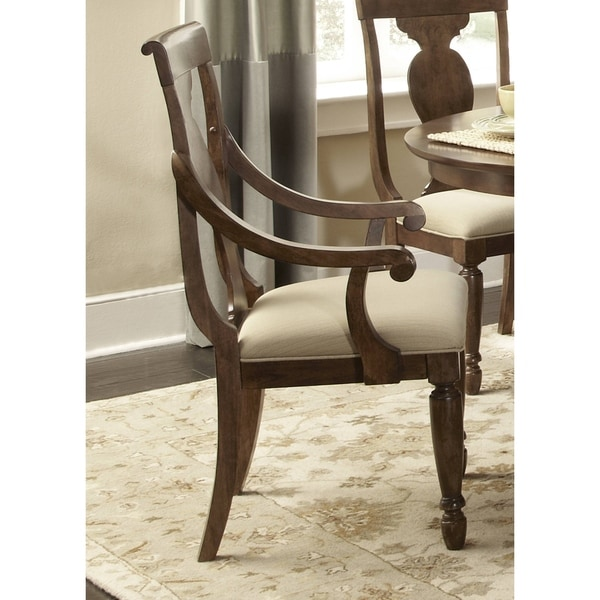 Liberty Rustic Tradition Cherry Arm Chair (Set of 2)