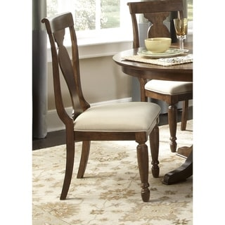 Rustic Tradition Cherry Splat Back Side Chair