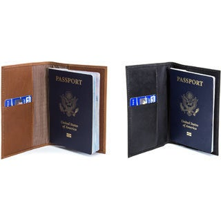 Musika Luca Colombian Leather Passport Holder