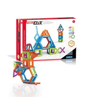 Guidecraft PowerClix Frames 48-piece Building Set