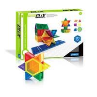 Guidecraft PowerClix Solids 70-piece Set