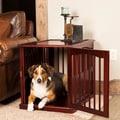 Primetime Petz Wood End Table Pet Crate