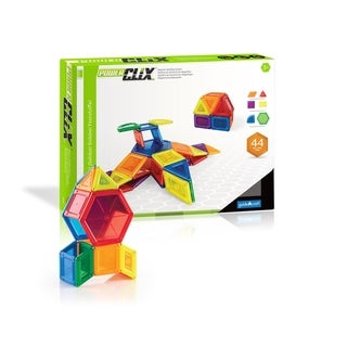 Guidecraft PowerClix Solids 44-piece Building Set